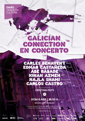 Cartaz Galician Connection 2014